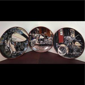Harley Davidson Franklin Mint Heirloom Plates